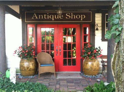 Antique Shop Doors