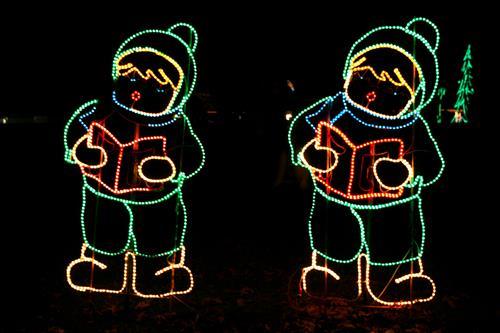 Winter Lights at Sunset Hill