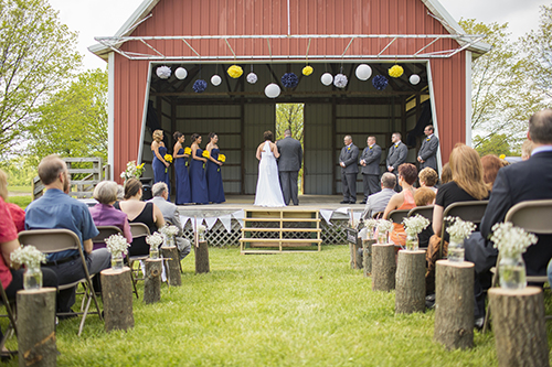 Wedding at the Sunset Hill Amphitheater
