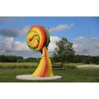 New Sculptures Come to Gabis Arboretum at Purdue Northwest