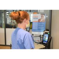 Thermal scanners provide no-touch COVID screening at Franciscan Health hospital entrances