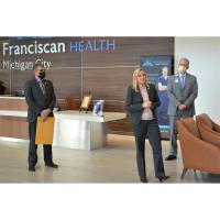 Indiana lawmaker honors Franciscan Health Michigan City with House resolution saying thank you for her family's care
