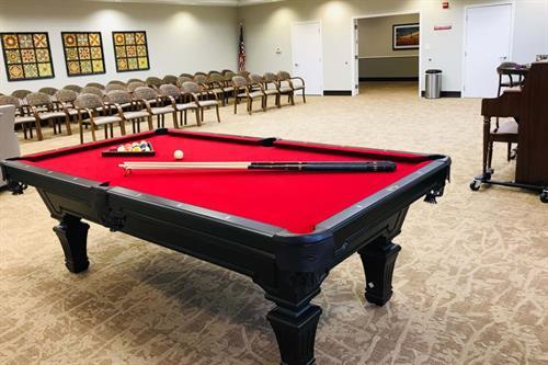 Activity / Billiards Room