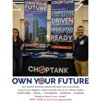 OWN YOUR FUTURE AT CHOPTANK