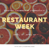 POSTPONED: Central Restaurant Week