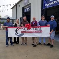 Premier Tire & Auto Celebrated Ribbon Cutting with Central Chamber of Commerce