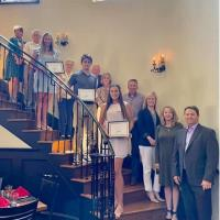The Central Chamber Awarded Scholarships to Three Central Seniors