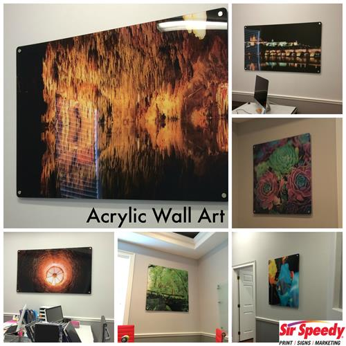 Acrylic wall art for all your interior needs 813-623-5478