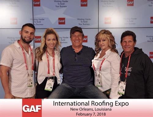 Great time at the National Roofing Expo