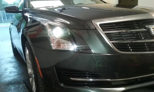 Installing Paint Protection Film on a 2017 CTS Sport