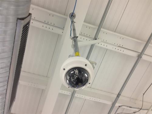 Custom Mounted Dome Camera