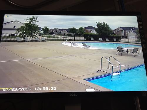 HOA Community Pool Screen