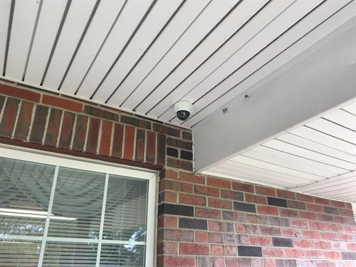 Outdoor Vandel Proof Dome Camera