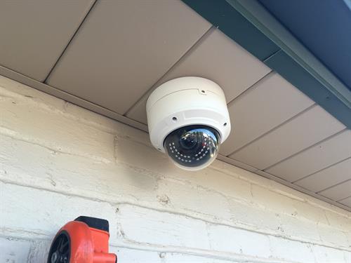 Vandel Proof Outdoor Dome