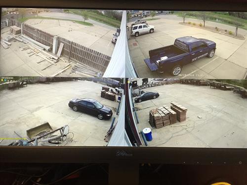 4 Camera Monitor Screen