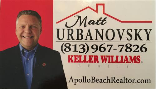 Thinking of selling or buying a home in Apollo Beach?  Lets get together for a real estate market update.