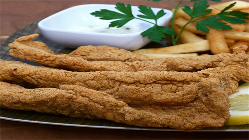 Fried Southern Catfish Strips