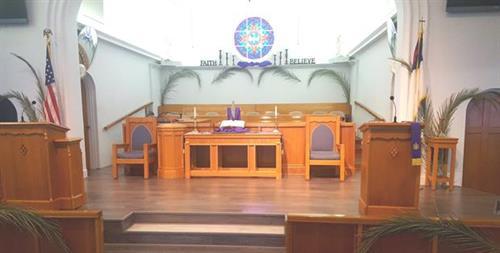 Palm Sunday Sanctuary