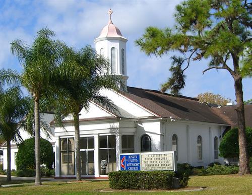 Ruskin United Methodist Church ~ 105 4th Ave NW, Ruskin, FL