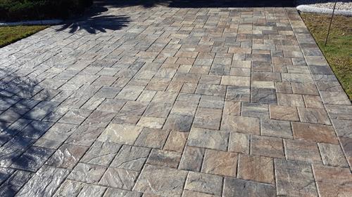 Concrete Design will Pressure Wash and Seal Pavers!
