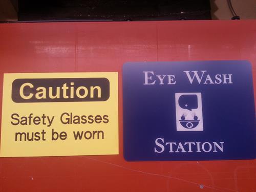 Instructional Signage
