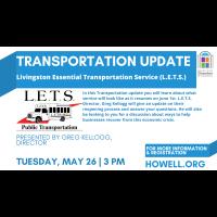 Transportation Update-L.E.T.S.