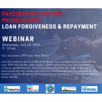 PPP Loan Forgiveness- You Received a PPP Loan. Now What?