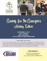 Caring for the Caregiver - Holiday Edition