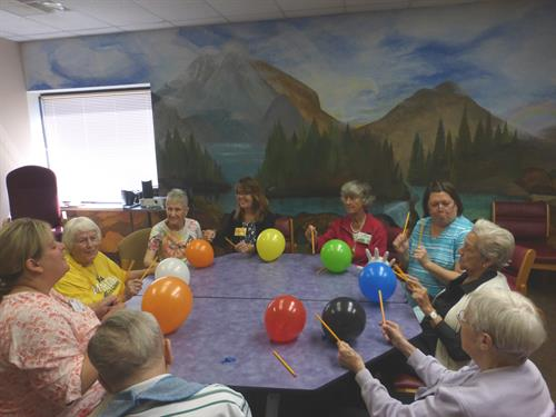 Be Our Guest Adult Day - Balloon Drumming