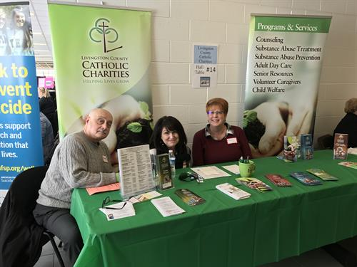 LCCC Staff at Community Connect event.