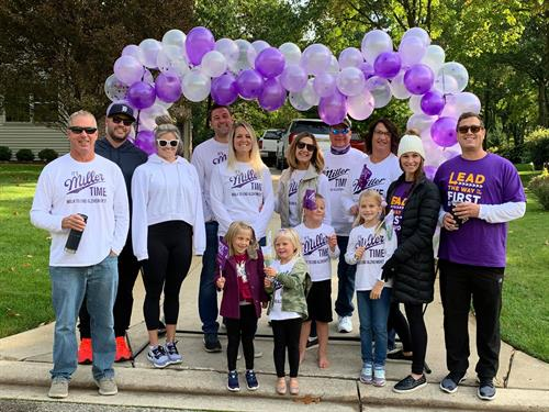 2020 Walk Was Everwhere - Walkers walked in their neighborhoods all over Livingston County