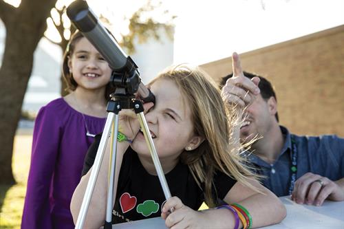 Girl Scouts is GIRL LED; we are there to guide them to the stars.