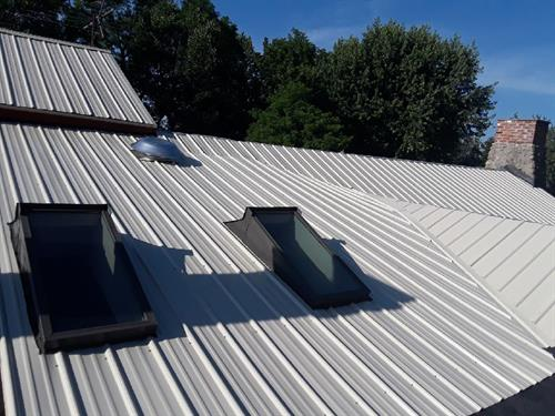 Sweet metal roof has the best warranties in the business!