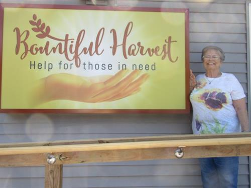 Volunteering at Bountiful Harvest