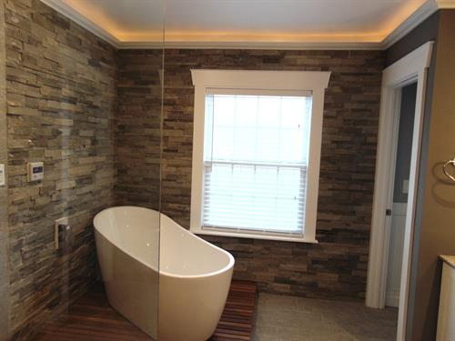 Bathroom Remodels.