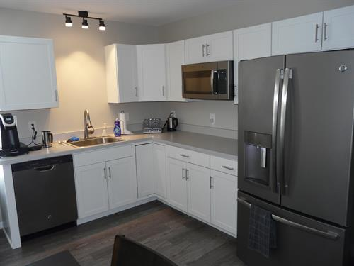Kitchens for offices. Give you employees somewhere to enjoy that moment.