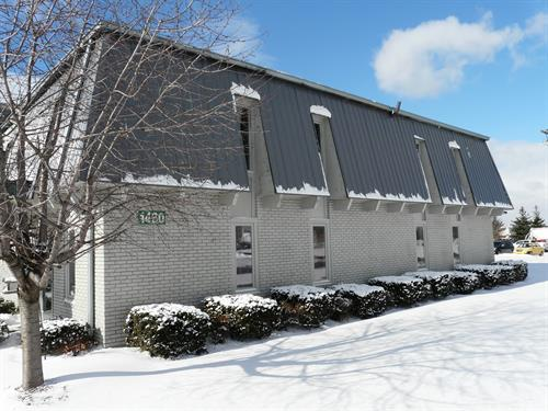 Industrial or Commercial Standing Seam Siding.