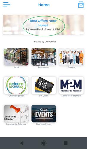 Howell Community eCommerce Marketplace App