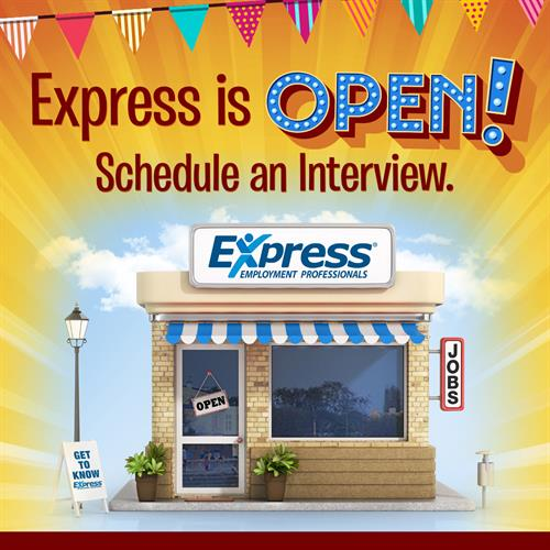 Express is Open