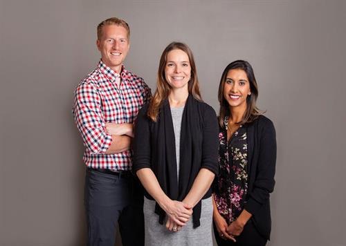 Dr. Melissa, Dr. Nav & Dr. Kyle