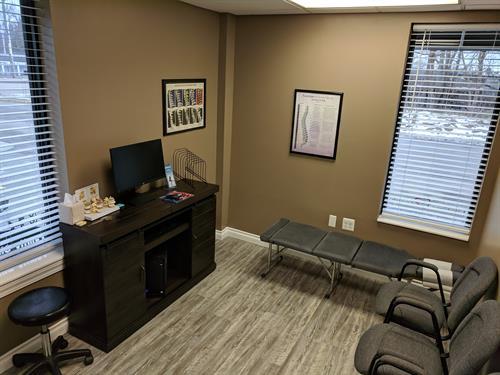 New Patient Exam Room