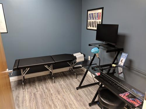 New Patient Exam Room
