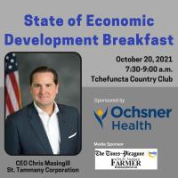 State of Economic Development Breakfast presented by Ochsner Health