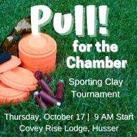 Pull! for the Chamber Sporting Clay Tournament