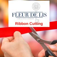 Ribbon Cutting at Fleur De Lis Law & Title Company