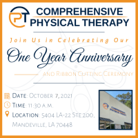 Ribbon Cutting at Comprehensive Physical Therapy