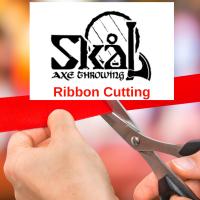 Ribbon Cutting at Skal Axe Throwing
