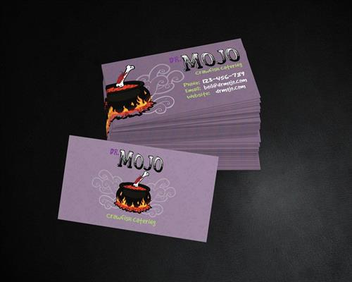 Dr Mojo's Business Card Design