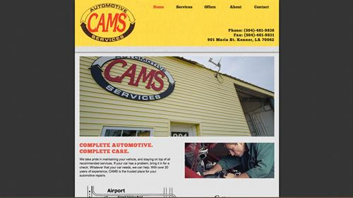 Cams Website