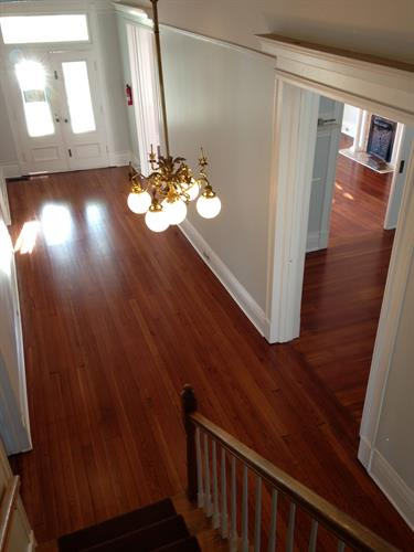 Refinished Hardwood Floors, Residential